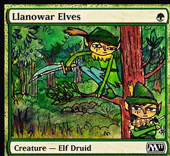 kinokoLlanowar Elves