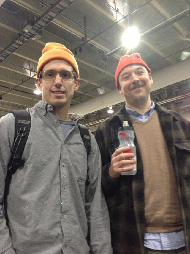 Team Light Buoy, aka me and Kadar, on Friday.
