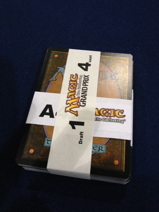 This is how you get your draft packs at a GP.